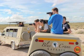 Blue Crane Safaris Namibia Photo