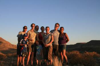 The ATI Holidays team - Zebra River Lodge, Namibia