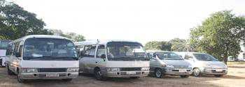 All our Transfer Vehicles.