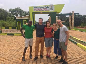 Our clients at Murchison Falls National Park