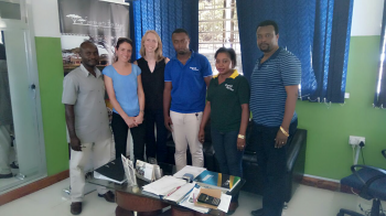 Operations team in Dar es Salaam Office.