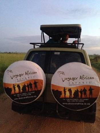 A view of our ground safaris through scenic Africa