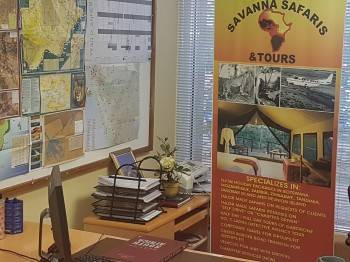 SAVANNA SAFARIS & TOURS OFFICES; BOTSWANA