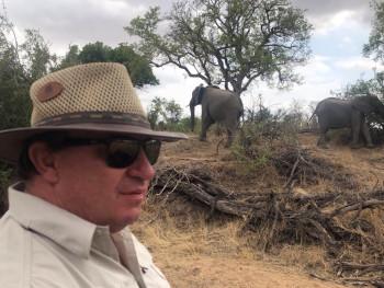 Ranger Buck on safari