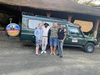 Guide Richard at Lake Naivasha Sopa Lodge