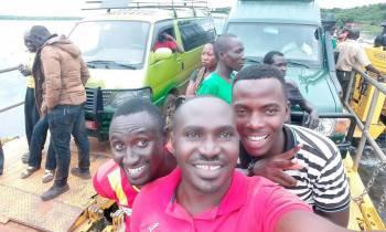 Rumara Safaris and clients during a Uganda tour