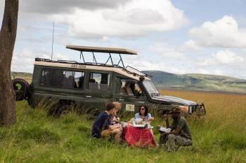 On Safari with Features Africa Journeys