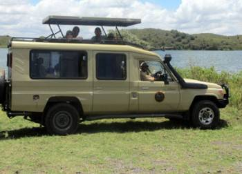 Our Vehicle on Safari