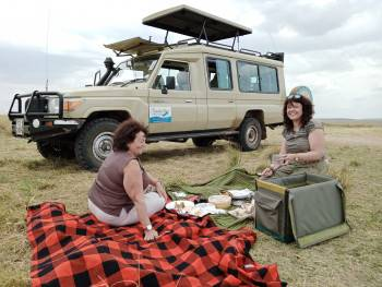 our clients in the Masai Mara reserve